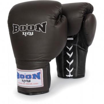 Боксерские перчатки BOON SPORT Leather Lace Training Gloves