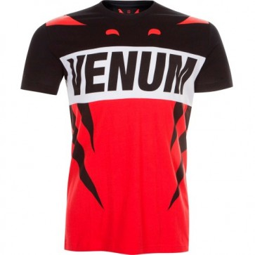 Футболка Venum Revenge T-Shirt Red Black - спорттовары Viasport 41714a059f3b2