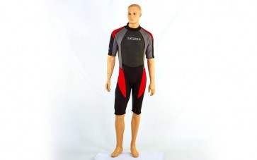 Гидрокостюм для серфинга, водных лыж мужской LEGEND PL-6407