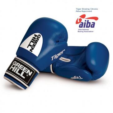 "Перчатки боксерские ""Tiger"" AIBA Green Hill"