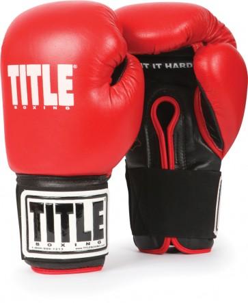 Детские боксерские перчатки для спаррингов TITLE Eternal