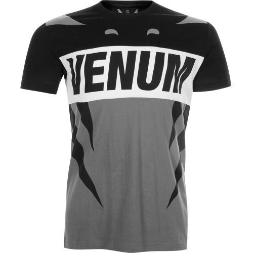 Футболка Venum Revenge T-Shirt Grey Black - спорттовары Viasport a0265ca6ace0d