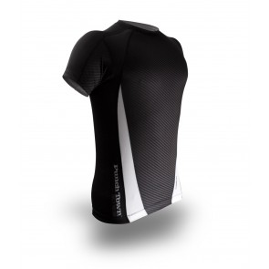 Рашгард PunchTown Carbon Rash Guard Short Sleeve