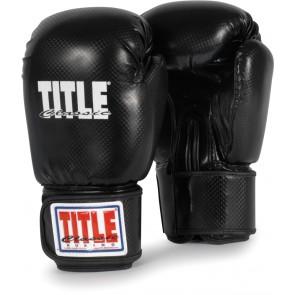 Боксерские перчатки TITLE Classic Black Max