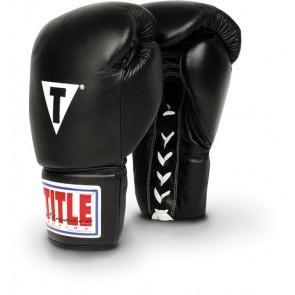 Боксерские тренировочные перчатки Title Classic