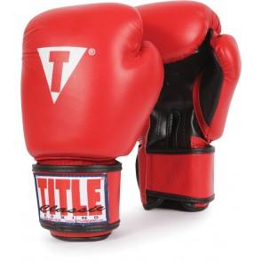 Тренировочные боксерские перчатки TITLE Classic Aero