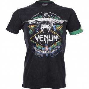 Футболка Venum Rio Spirit T-shirt Black