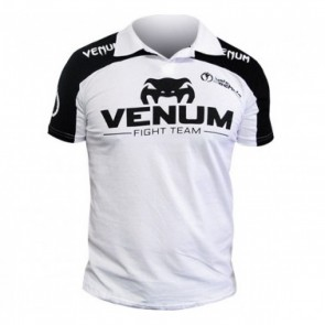 Футболка Venum Lyoto Machida Polo Black-White