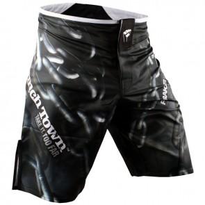 Шорты для MMA PunchTown Frakas Ryushin Shorts White