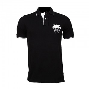 Футболка Venum Wand Fight Team Polo - Black