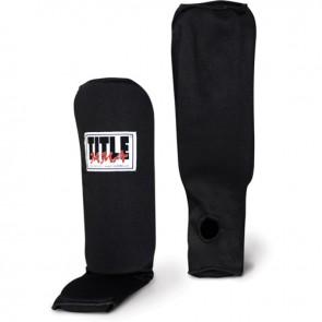 Защита голеней/стоп TITLE MMA Slip-On