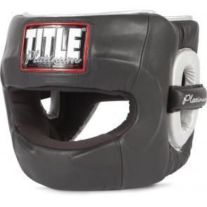 Боксерский бесконтактный шлем TITLE Platinum Paramount