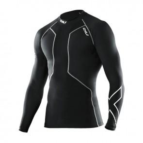 Мужская компрессионная футболка с длинным рукавом для восстановления 2XU после плавания MA2004a