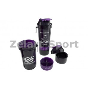 Шейкер 3-х камерный для спортивного питания SMART SHAKER SING JAY CUTLER 6020027