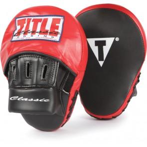Боксерские лапы Title Classic Aero
