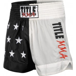 Шорты для тайского бокса TITLE MMA Nylon Thai