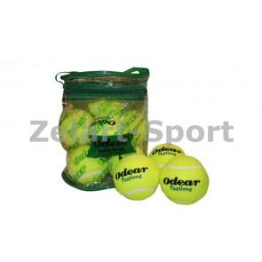 Мяч для большого тенниса (12шт) ODEAR 901-12