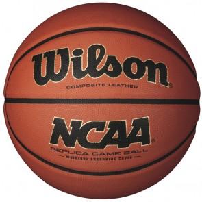 Баскетбольный мяч Wilson NCAA REPLICA GAME BALL SS14