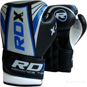 Боксерские перчатки детские RDX blue