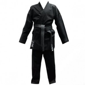 Кимоно для карате черное MATSA МА-0017