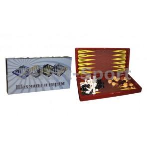 Шахматы, шашки, нарды набор настольных игр IG-5008B