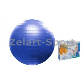 Мяч для фитнеса (фитбол) PS гладкий 65см FI-075(65)