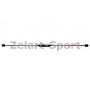 Палка гимнастическая гибкая для фитнеса FLEX BAR PS FI-570TR-D