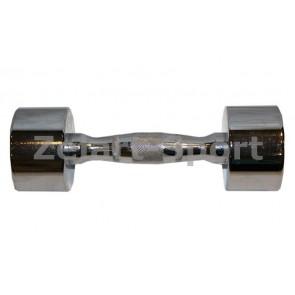 Гантели для фитнеса хром. (1*1кг) SC-8017-1