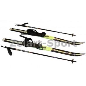 Лыжи беговые в комплекте с палками Zelart SK-1883-90A
