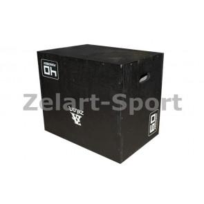 Бокс плиометрический (1 шт) QT1106 PLYOMETRIC BOXES
