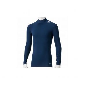 Компрессионная футболка Adidas TECHFIT BASE длинный рукав (синий)