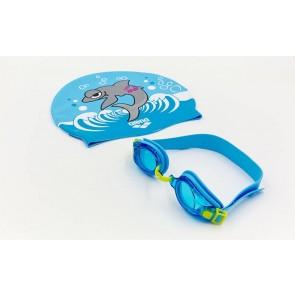 Набор для плавания детский: очки, шапочка Arena AWT MULTI