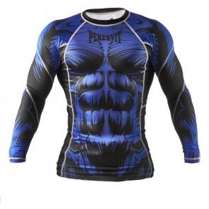 Рашгард Peresvit Immortal Silver Force Rashguard Long Sleeve Blue
