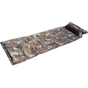 Коврик для кемпинга (матрас) самонадувающийся с подушкой SY-116