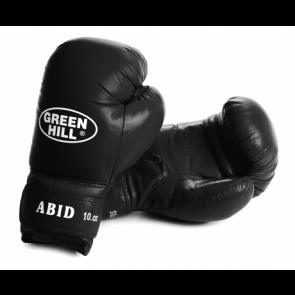 "Кожаные боксерские перчатки Green Hill ""ABID"""