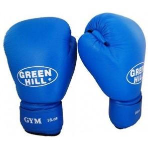 "Кожаные боксерские перчатки Green Hill ""GYM"""
