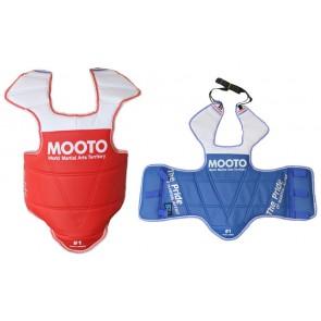 Защита корпуса и ключицы (жилет) двухстор. PVC MOOTO BO-5095