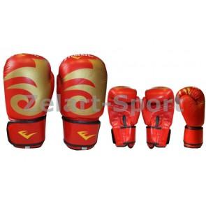 Перчатки боксерские Кожа ELAST BO-3630
