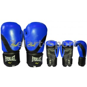 Перчатки боксерские Кожа ELAST BO-3631