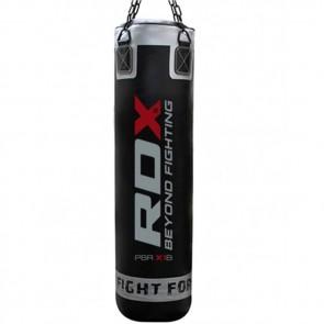 Боксерский мешок RDX Leather Black 1.2 м, 40-50 кг