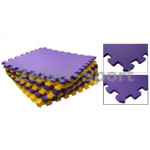 Коврик-мат пазл набор 6шт 48,5х48,5х1см Пенополиэтилен C-5068