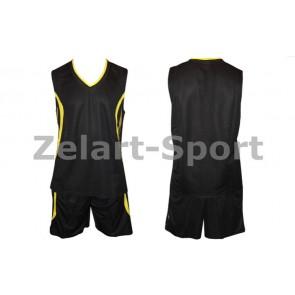 Форма баскетбольная мужская без номера CO-3864-BK