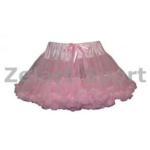 Юбка Американка розовая DN-9024-RR (PL, шифон)