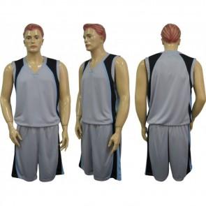 Форма баскетбольная мужская без номера CO-1509-GR