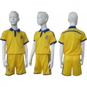 Футбольная форма детская CO-3900-UKR-14Y Украина