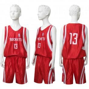 Форма баскетбольная юниорская NBA CO-0038-7 ROCKETS