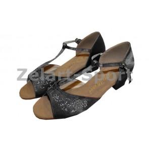 Обувь для танца (для девочек) латина ET7009-BK