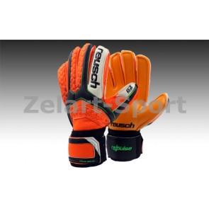 Перчатки вратарские с защитными вставками на пальцы FB-873-1 REUSCH