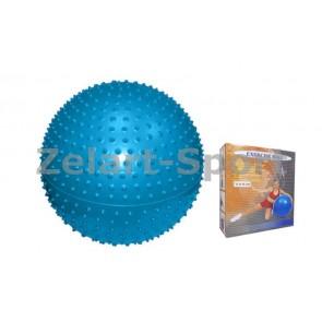Мяч для фитнеса (фитбол) PS массажный 65см FI-078(65)