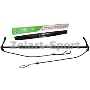 Палка гимнастическая для фитнеса с эсп. Gym Stick FI-4412